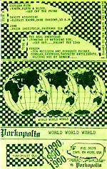 a compilation from his Porkopolis label with bands from France, England, Poland and his own group, The Real Americans.