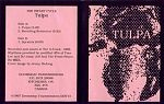Jim DeJong's label in the 1990s was called Doomsday Transmissions. This particular tape came in a plastic bag. Jim has a fine art esthetic that adds special grace to his releases. This was a short experimental cassette.