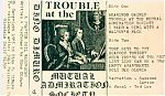 """""""Trouble At The Mutual Admiration Society"""" was the first tape I traded with Dino. This started our long term friendship and eventual collaboration projects. BB Russell of The Underpeople ( LA underground group) had turned Dino on to my radio show and I believe that is how we first got into contact."""