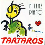"""Outstanding German pianist, Norbert R. Lenz, sent me some material in the late 1980s including the 7"""" vinyl above. He also sent me an original reel to reel tape that I later released on cassette. Wonderful solo piano improvisations."""