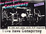 Gary also played with Dave Rave, a fellow Canadian singer with a rock pop bent. Above is the cover for their 1992 live tape.