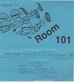 Room 101 was my introduction to the music of Ohio's Mark Hanley. It was immediately apparent that this guy could really play guitar and with fire in his belly. I loved it right from the get go. From 1984 these live recordings are with Bob Shields on drums and Tom Delequadre on bass.