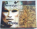 """His cassette """"Dark Worship""""."""