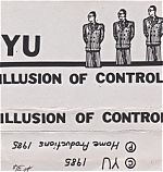 """YU's cassette from 1985, """"Illusion Of Control""""."""