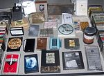 """Above, a selection of unorthodox cassette casings curated by Ken Montgomery, founder of New York's """"Generator"""":http://www.generatorsoundart.org/ gallery and sound arts label."""