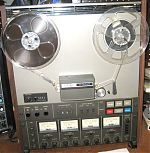 Above, my TEAC 3440, purchased in 1981.