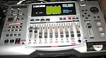 My BOSS 1180 digital 8 track recorder purchased in 2002.