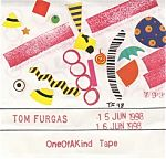 """Not only does Tom send you the only copy of the work but he also hand draws,paints, or glues images onto the cover. This is total Art with a capital A and in my humble opinion is what is missing from much of todays """"underground"""" or independent scene. Tom Furgas' work is never """"product"""" but unique art stylings."""