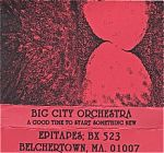 A 1988 BCO release on Mike Tetrault's Epitatpes label from Massachusetts.