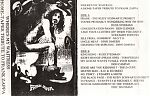 """In addition to his own music, Russ released a couple of compilation tapes. Above, """"Where's My Waitress"""" a collection of Frank Zappa songs played by various home tapers including, The Rudy Schwartz Project, Ken Clinger, Screamin' Popeyes, M.O.T.O., Dino DiMuro, Tom Furgas, KD Schmitz, L'Edarps A Moth, Eric Hausmann, Michael Reeves and Don Campau."""