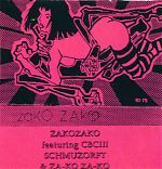"""Above, a release called """"ZakoZako"""" which featured  ( among others) his partner in Grandbrother, CBC III."""