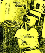 """Above, the first tape I ever received of Amy Denio's music was also issued on The Sound Of Pig label from New York. This 1986 cassette was broken into two sections: """"Boneless Pork Butts"""" and """"Half Bone In Hams"""". Filled with unbelievably  gratifying tunes of mirth and personal essence, this was the beginning of a huge love for her music which has only become stronger over time."""