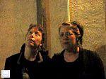 Amy Denio and Robin O'Brien in Oakland 2008.