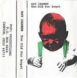 """Above, the cover for """"Too Old For Angst"""", his 1997 release.  Ray's own label """"Pop! Productions"""" changed to """"Cut And Paste"""" sometime in the early 2000's. He also released material on GGE records, Emigre, Lonely Whistle and other labels."""