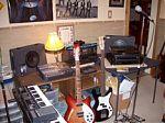 Ray Carmen's music studio in Ohio.