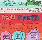 """At first I couldn't believe how lo fi his tapes were. And then after becoming familiar with them this aspect only added to the charm. Above, his late 1980s cassette, """"The Present Day Composer Refuses To Diet"""""""