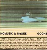A collaboration between Hal and Carl Howard  released on Carl's audiofile label in 1990. This tape was more floating and ethereal electronics and keyboards.