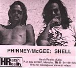 """The Phinney/ McGee release """"Shell"""", an electronic texture exploration into inner space from 1990."""
