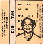 """Two solo tapes of noise and confusion. """"H8"""" from 1998 and """"B12"""" from 1995."""