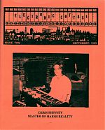 Electronic musician and the proprietor of the Harsh Reality Music label from Memphis, Chris Phinney appeared on the cover of EC #2 in 1989.