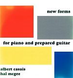 Another aspect of Hal's art was his solo piano work. On this 2004 collaboration with Albert Casais on guitar, he plays a relatively straight forward, non affected, keyboard, probing in an almost Stockhausen style. He also released solo piano albums in this vein.