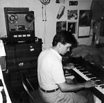 In the late 1980s I visited Dino DiMuro's parents house for the only time. We sat in his room on Gower St. in Los Angeles and talked, laughed and played some music. You can see Dino's workhorse TEAC tape deck that he used for all his early tapes.